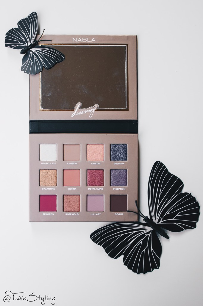 Dreamy Eyeshadow Palette - Nabla Cosmetics.