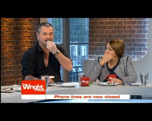 Channel 5's The Wright Stuff