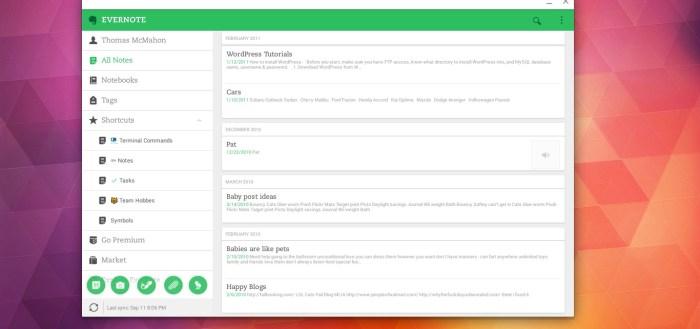 Evernote App Chromebook