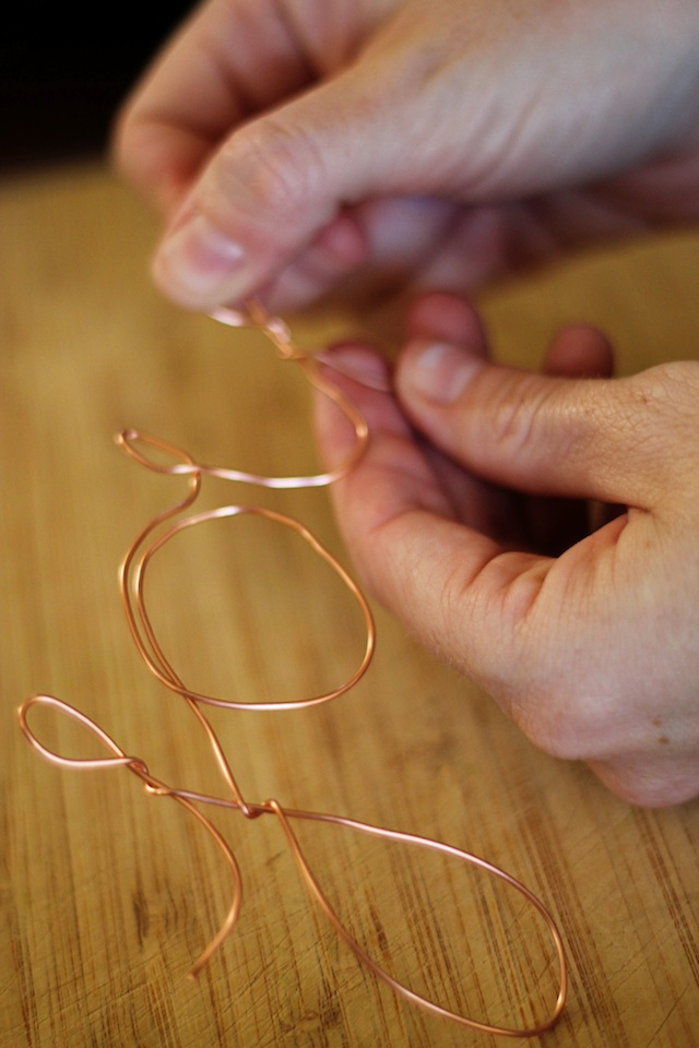 Copper wire ornament diy 4 | Two Delighted