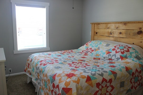 Thimble Blossom Fireworks Quilt