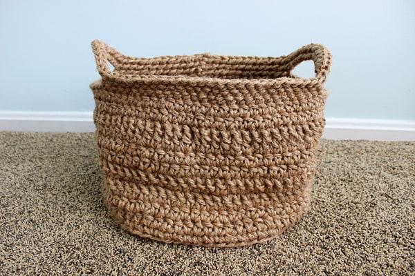 Basket Weaving Hobby Lobby : Twofeetfirst cording basket pattern