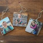 Add a Photo to Wood  (AKA: Wooden Picture Ornaments)