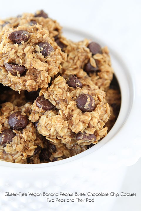 Paleo Peanut Butter Chocolate Oatmeal Cookies