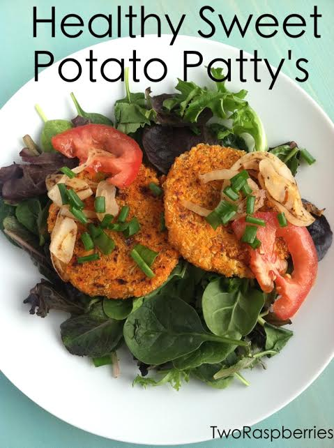 Sweet Potato Quimoa Patty