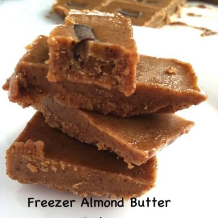 Almond Butter Freezer Fudge