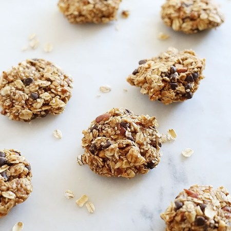 1 Bowl No Bake Chocolate Chip Nut Cookies 2