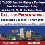 2016 Call for Presentations