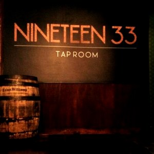 Nineteen33 tap room