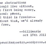 """""""Some Abstractions"""""""