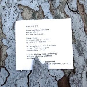 A Poem For thelittleblackcoffeecup