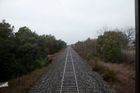 Amtrak Louisiana Railroad Tracks Billimarie Typewriter Poetry