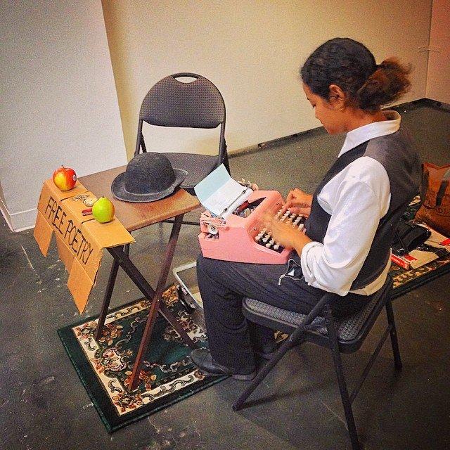 Artisanal LA Typewriter Poetry Billimarie Instagram