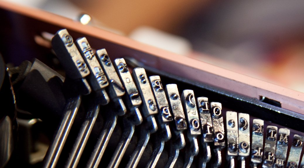 Typewriter Poetry Close Up Pink Royal Typewriter Keys Photograph by Billimarie Robinson