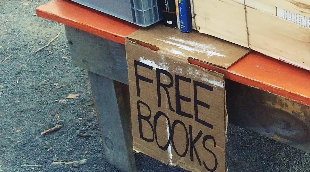 Old Habits Die Hard: Replacing Free Poetry with Free Books