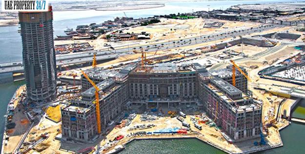Palazzo Versace Hotel Dubai Under Construction