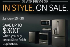 Save on Slate Appliances