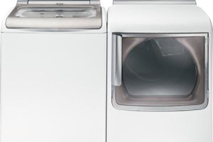 New GE High-Efficiency Washer