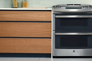 GE's New Double Oven Slide-In Gas Range PGS950SEFSS