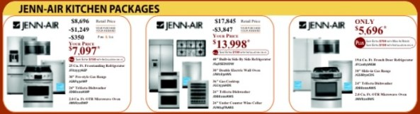 Jenn-Air Kitchen Packages