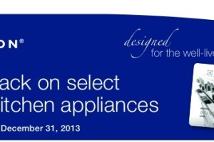 Save on Electrolux Appliances at Year End