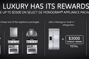 Save up to $3500 on select Monogram® appliance packages.*