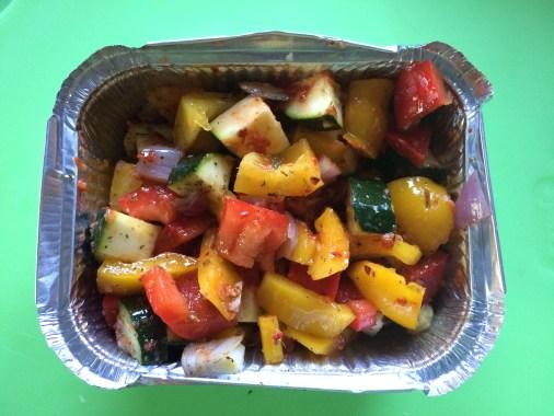 Gemüse gewürzt