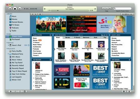 Tienda de música de Apple: itunes store