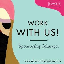 2016 UWRF - Job Advertisement - Sponsorship Manager