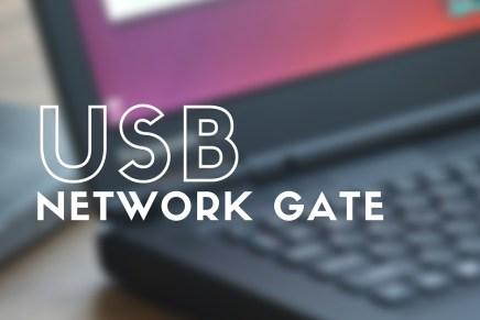 USB Network Gate, programa para compartir tus memorias USB a través de Internet
