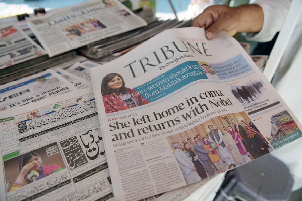 Press in chains in Pakistan's malfunctioning democracy