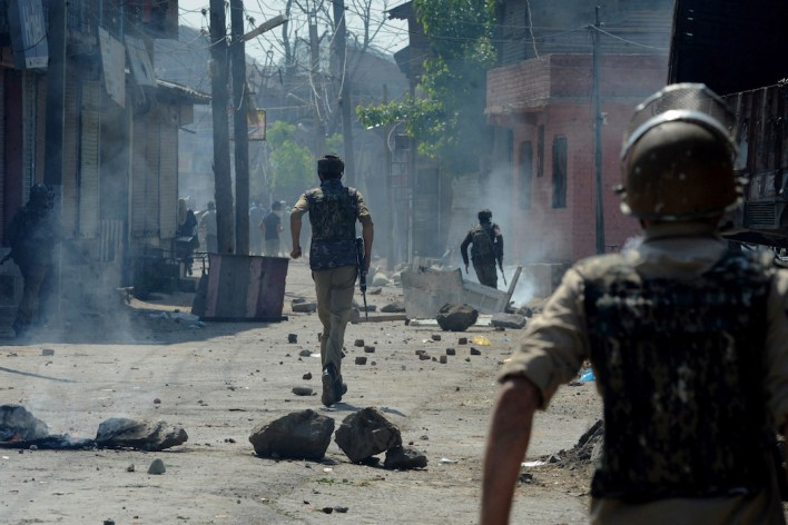 India 'insincere' about seeking peace in Kashmir