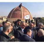 البطريرك ساكو يزور سهل نينوى على رأس وفد من الكنيسة الكلدانية