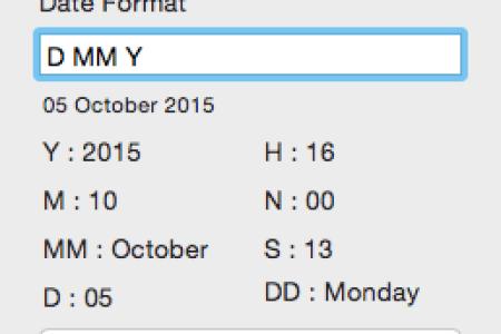 mac date format
