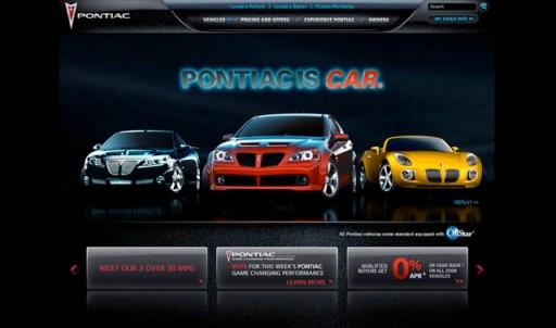 top 30 car website designs of the major brands. Black Bedroom Furniture Sets. Home Design Ideas