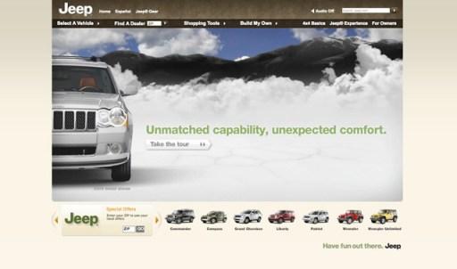Top 30 Car Website Designs Of The Major Brands Ucreative Com