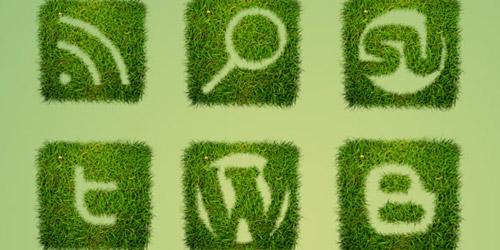 Grass Textured Social