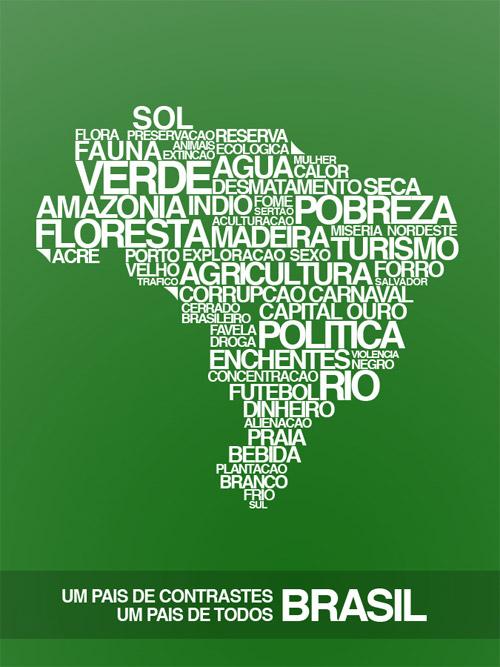 brasil text