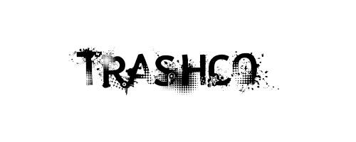 Trashco font