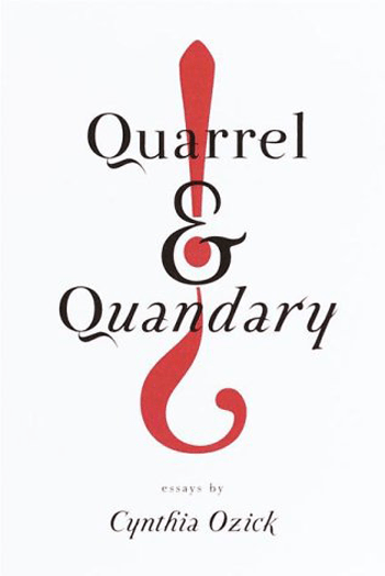 Beautiful Book Covers - Quarrel and Quandary