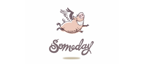 new pretty animal logo design