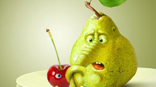 pear manipulation