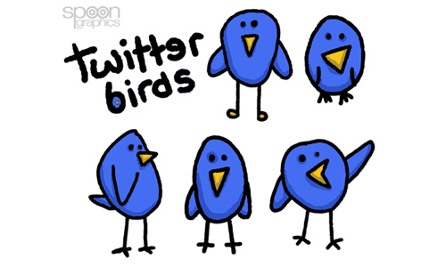 twitter bird graphics