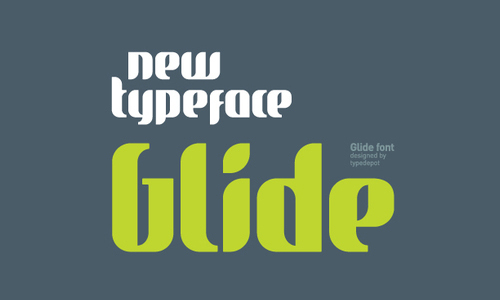 glide font