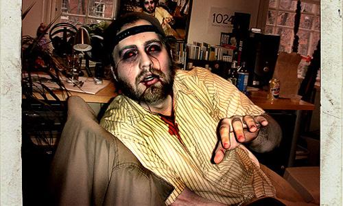 Halloween Photoshop Tutorials - Freakish Zombie