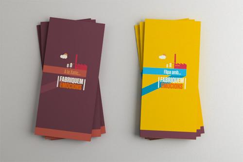 Brochure Design Examples - Fabriquem Emocions