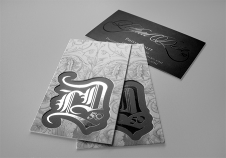 Lethal Dose Business Card Design
