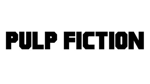Pulp Fiction M54 Font