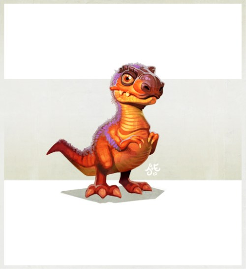 TRex Digital Paintings