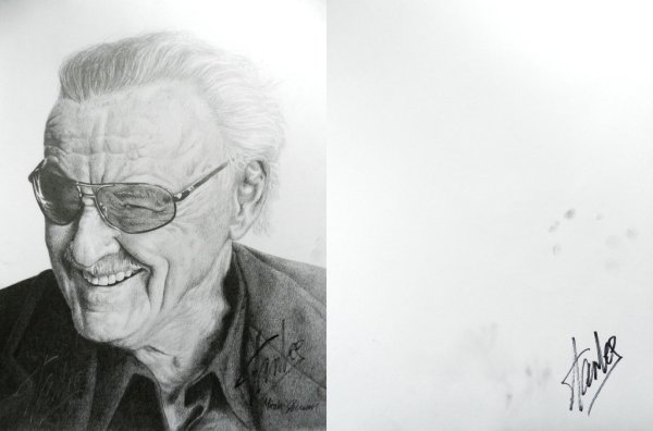 """Stan Lee Signed"" by bronze-dragonrider"